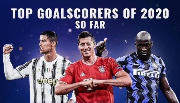 2020年欧洲足坛射手榜第一是谁  2020年欧洲足坛射手榜排名