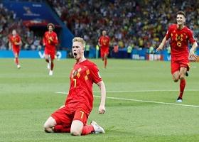 2022年世界杯比利时国家队大名单:阿扎尔和德布劳内