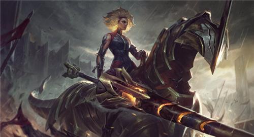 英雄联盟10.25版本更新 新英雄.镕铁少女芮尔降临峡谷