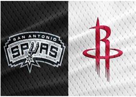 NBA季前赛视频直播:马刺vs火箭哈登能否力挽狂澜