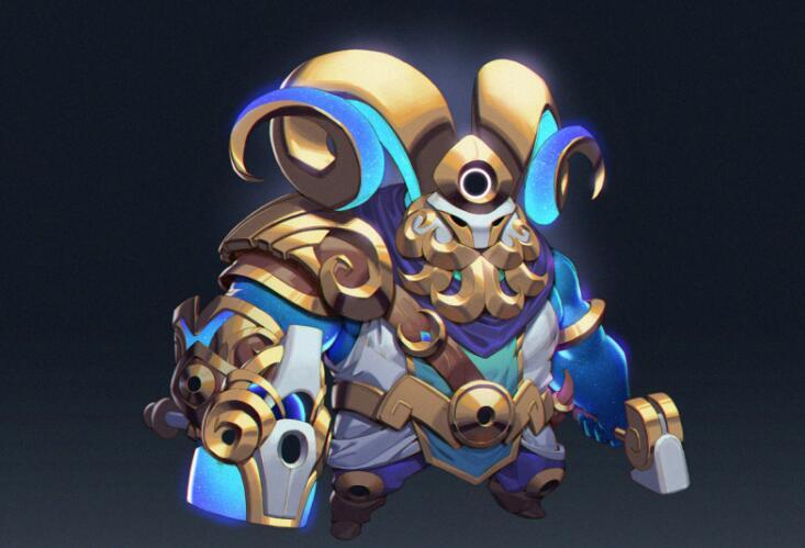 英雄联盟玩家自制12星神皮肤:白羊座奥恩双子座努努