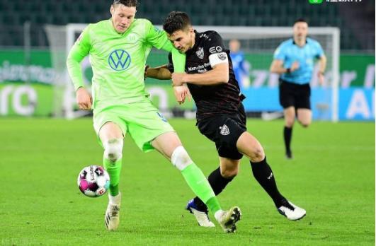 沃尔夫斯堡VS斯图加特全场比分,沃尔夫斯堡德甲积分榜最新排名