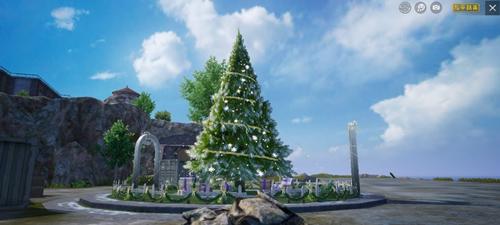 2020和平精英冰雪模式圣诞树位置,和平精英冰雪模式怎么玩