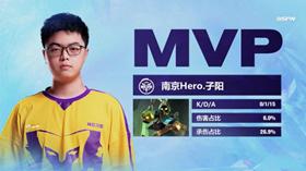王者荣耀冬季冠军杯Hero进入正赛 冬冠杯第一名参赛战队决出