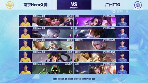 王者荣耀冬季冠军杯Hero进入正赛,冬冠杯第一名参赛战队决出
