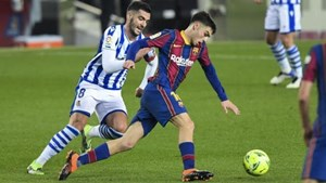 西班牙超级杯皇家社会vs巴塞罗那前瞻:红蓝军团气势如虹